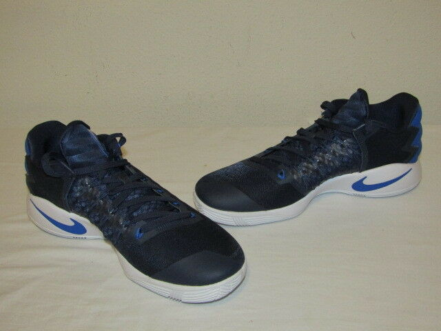 New Sz 11.5 Nike Hyperdunk 2016 Low Men's Basketball Shoes Navy 844363 444