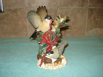 Lenox Holiday Companions Chickadee And Nuthatch In Original Box With Coa Est Ebay