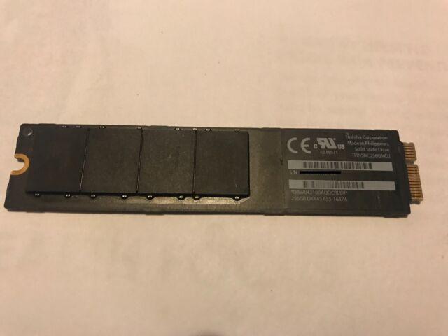 "Apple SSD Toshiba 256GB THNSNC256GMDJ for MacBook Air 11"" 13"" 2010 2011"