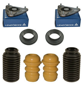 Porsche-911-996-986-987-Front-Upper-Strut-Mounts-Bearings-Bump-Stops-Set-8