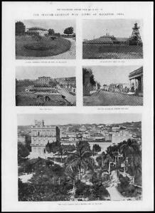 1898-Antique-Print-SPANISH-AMERICAN-War-CUBA-Matanzas-Sugar-Factory-Quay-157