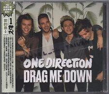 One Direction: Drag me down (2015) CD SINGLE OBI TAIWAN + FOLDED POSTER
