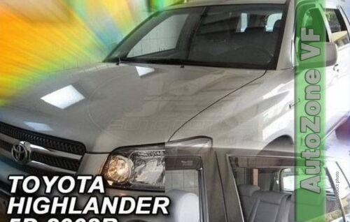 DTO29612 Toyota Highlander 2001-2007 viento desviadores 4pc Heko Teñido