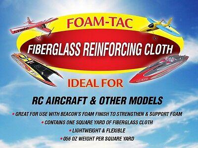 BEACON lightweight fiberglass reinforcing cloth - 1 square yard/pkg