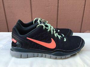 f9a0f92c5ce Rare Women s Nike Free TR Fit 2 Shield Water Repel 536437-008 US Sz ...
