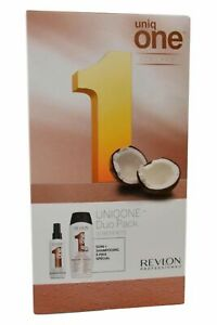 Revlon-Uniq-One-Capelli-Maschera-Spray-150ml-Cocco-Shampoo-Balsamo-300ml-Cocco