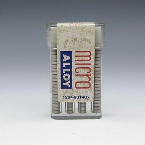 LD-Caulk-Micro-Alloy-Non-Zinc-80-Pellets-Dental-Metal-Filling-Amalgam-1-troy-oz
