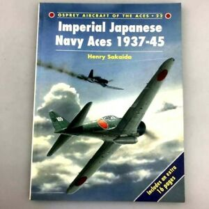 Rare-Foreign-book-WW2-Imperial-Japanese-Navy-Aces-1937-45-Fighter-From-Japan