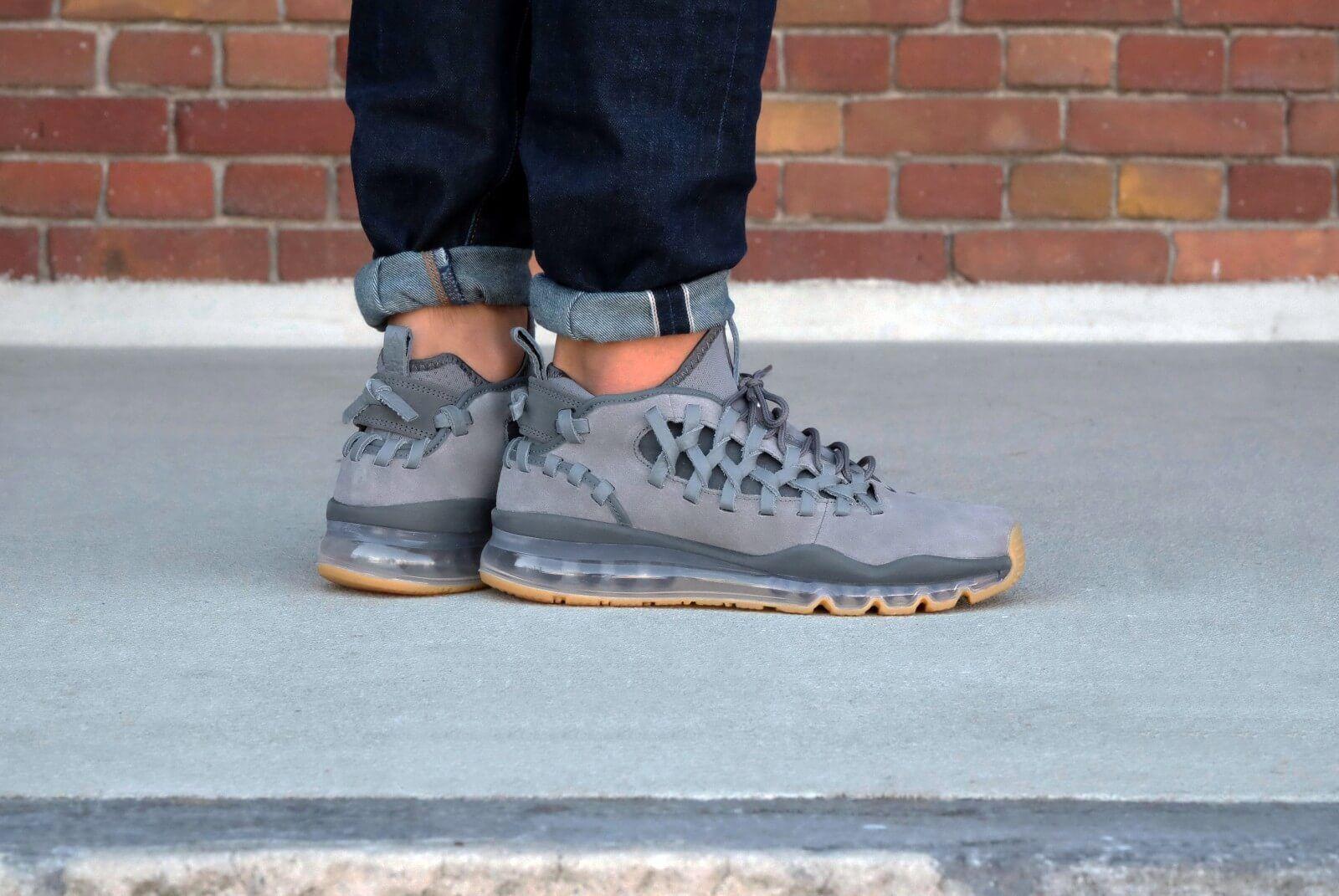 Nike air max tr17 kühlen grau / dunkelgrau 880996-002 mens sz 10 numuck.