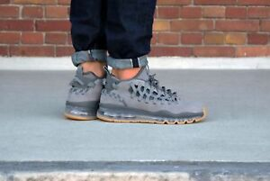 sports shoes f9bae a2557 Image is loading Nike-Air-Max-TR17-Cool-Grey-Dark-Grey-