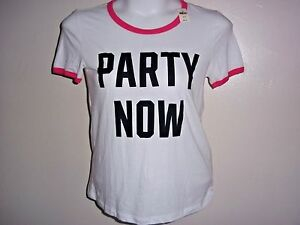 7ab32f96327e4 Details about NWT VICTORIA'S SECRET I ONLY SLEEP IN PINK TEE T SHIRT TOP  MEDIUM