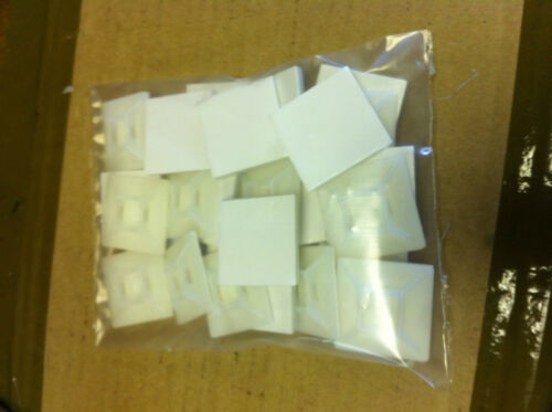 CABLE TIE BASE 28mm X 28mm Bag of  50