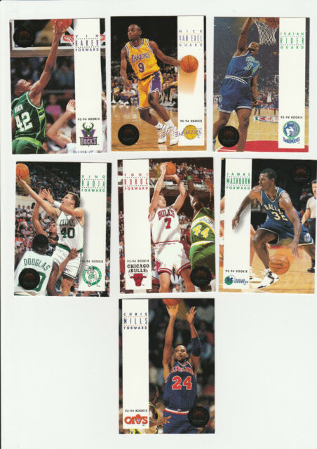 1993-94 SkyBox Premium Edition 7 Card Rookie Lot # 3