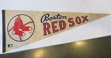 Vintage Pennant Banner Flag Boston Red Sox MLB Major League Baseball 1960s MA
