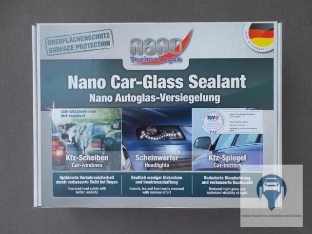 Nanoselladura Kit Cristal de Auto Nano Sellado Cristal Sellado de Pantalla