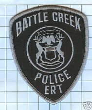 Police Patch - Michigan - Battle Creek E.R.T.