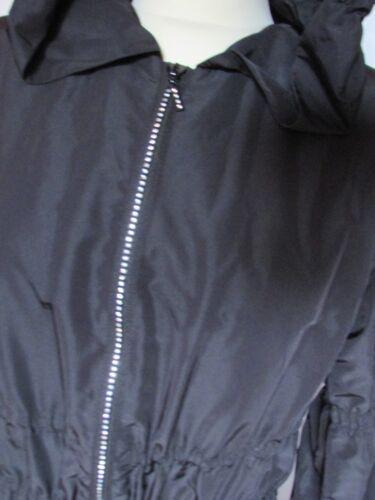 Manteau Long Taille Bykovska Yana Noir 36 881Yqwr