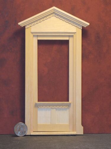 Dollhouse Miniature Victorian Door Unit 1:12 one inch scale K2 Dollys Gallery