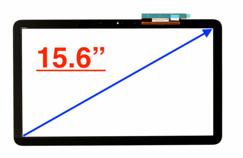 """For 15.6/"""" HP Pavilion 15-F 15-F010DX 15-F010WM Touch Screen Digitizer Glass"""