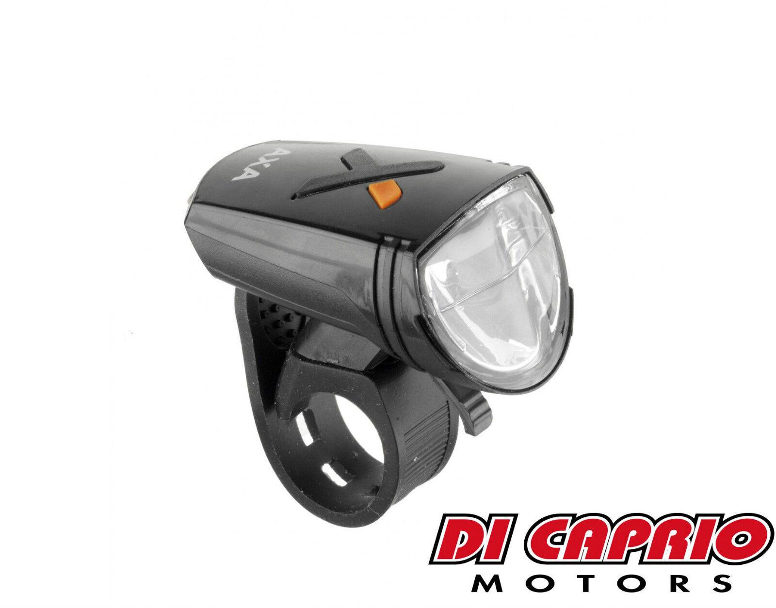 Lumière AXA LED lumières PHARE ANTÉRIEUR Vélo AXA Lumière Greenline 8 par ATALA USB d4ad97