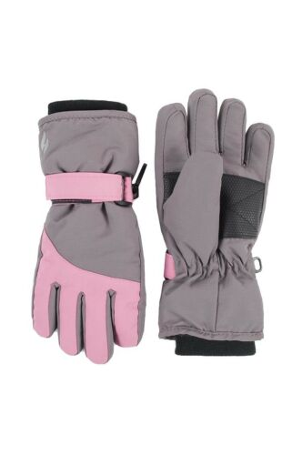 Heat Holders Kids Waterproof Fleece Insulated Thick Thermal Winter Ski Gloves