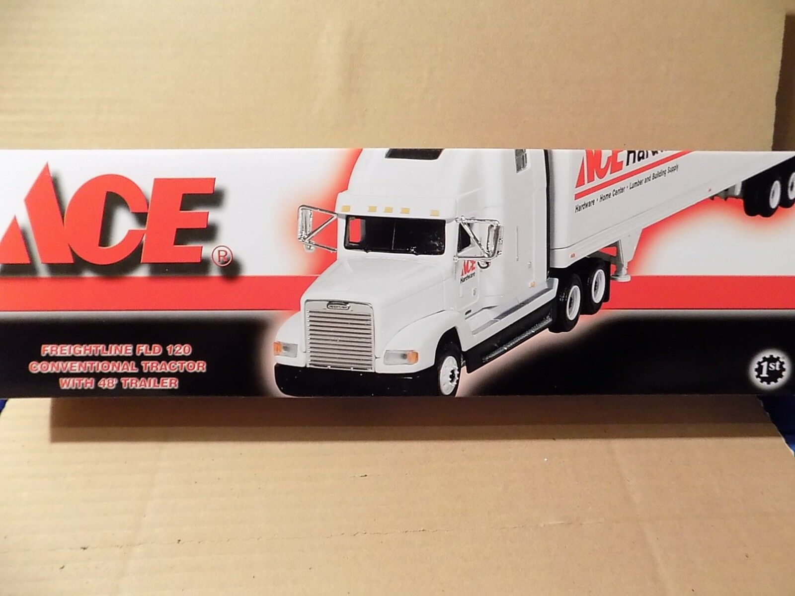 ACE HARDWARE TRC. TRL DIECAST 1ST FIRST GEAR 1 54 SCALE
