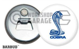FORD-XB-COBRA-COUPE-SNAKE-LOGO-Magnetic-Bottle-Opener-BARBUD