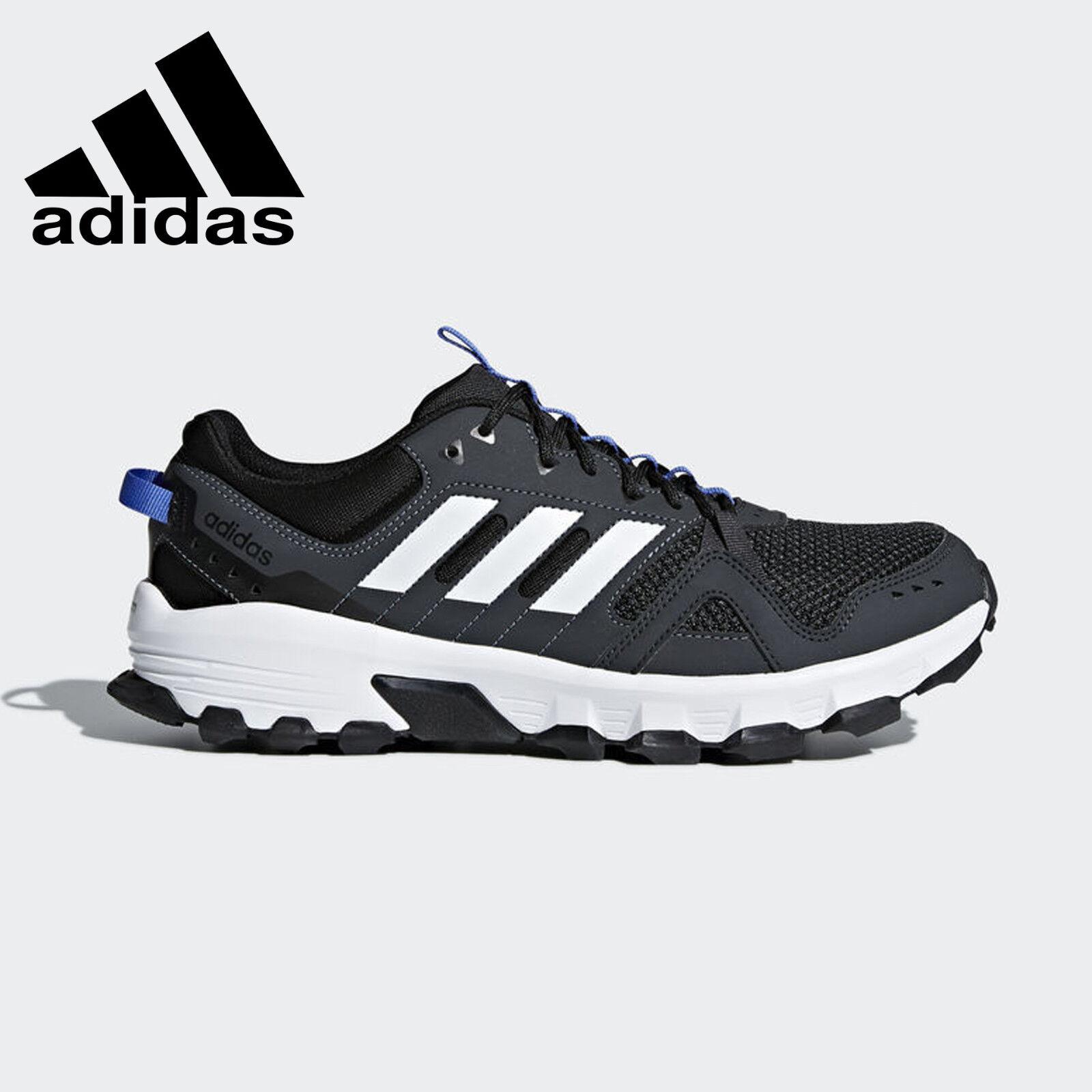 Adidas Rockadia Trail Black   White Trail Running shoes Mens Size 10 (CM7212)