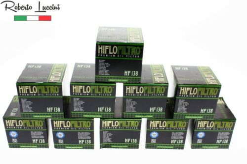 10x Filtre à huile HIFLO hf138