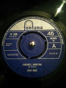 Joan-Baez-Farewell-Angelina-Vinyl-7-034-Single-UK-Fontana-TF-639-1965