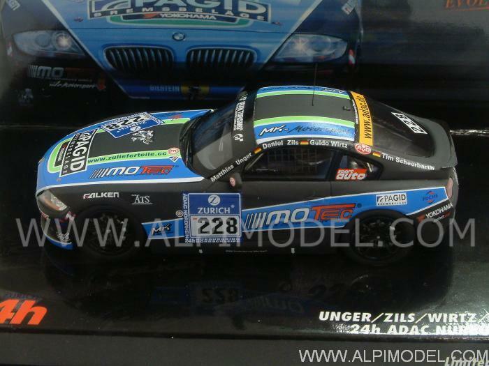Web oficial BMW Z4 Nurburgring 2010 2010 2010 Unger - Zils - Wirtz - S 1 43 MINICHAMPS 437102228  punto de venta