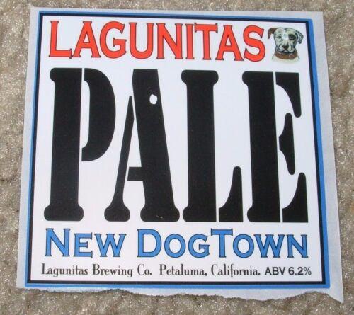 LAGUNITAS BREWING chicago PALE Dogtown STICKER label decal craft beer brewery
