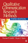 Qualitative Communication Research Methods by Thomas R. Lindlof, Bryan C. Taylor (Paperback, 2010)