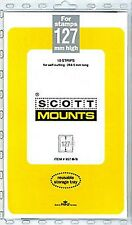Prinz Scott Stamp Mount 127/265 BLACK Background Pack of 10