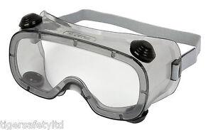 Delta-plus-venitex-Ruiz-1-clair-PVC-securite-ventile-lunettes-Eyewear-Lunettes