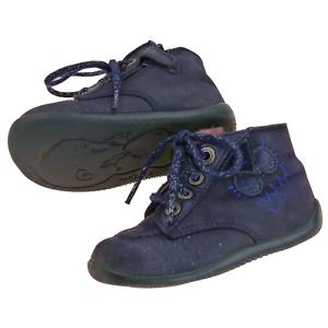 Kickers-chaussures-bleu-marine-bebe-fille-T22