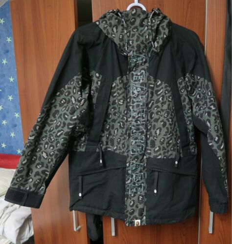 Vintage Condition Green Grey Camo Snowboard Jacket Bape Rare Excellent Medium HqwY8dHx1