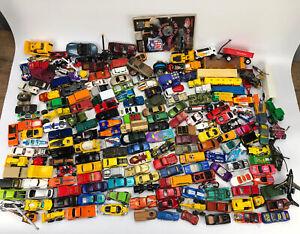 Enorme-Lote-de-185-Hot-Wheels-aleatoria-de-coches-de-juguete-Matchbox-Maisto-Vintage-Y-Moderno