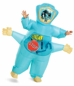 Inflatable Muncher CHILD Costume NEW Ghostbusters One Size Fits Most