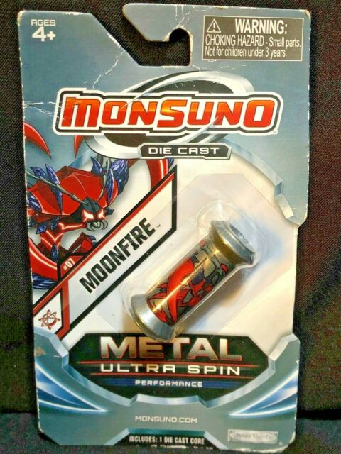 Monsuno DIE CAST METAL Ultra Spin Core MOONFIRE Wave 2