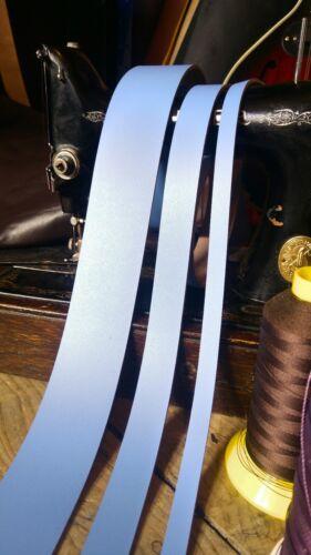 Bracelet en cuir bleu ciel 3 mm Leather Craft 50 Longue Ceinture faire toute largeur