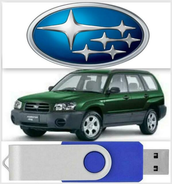 Subaru Forester Factory Service Manual  U0026 Wiring Diagrams