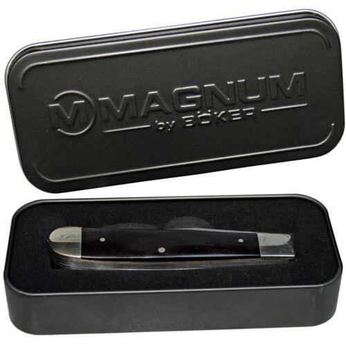Metallbox Magnum by Böker Kompaktes Camping-Besteck  Messer Gabel Löffel inkl