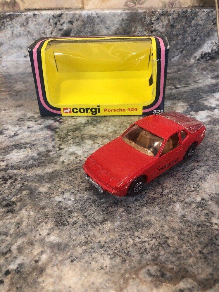1979 1979 1979 Corgi Porsche 924 Red Diecast Car dc3835
