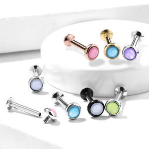 1pc-Illuminating-Stone-Labret-Stud-Helix-Tragus-Cartilage-Internally-Threaded