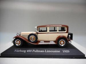 MERCEDES-BENZ-460-NURBURG-PULLMAN-LIMOUSINE-1929-MERCEDES-DeAGOSTINI-IXO-1-43