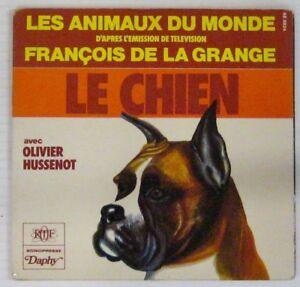 Chats-Chiens-45-tours-Les-animaux-du-monde-Francois-de-la-Grange