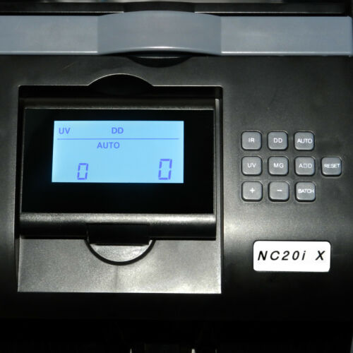 NC20iX Banknote Counter Fast Cash Counter Money Counter *Customer Return*