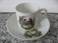 TASSE à MOKA  SOUC Porcelaine LIMOGES  Couple