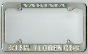 Yakima Washington Lew Florence Volkswagen Vintage Vw